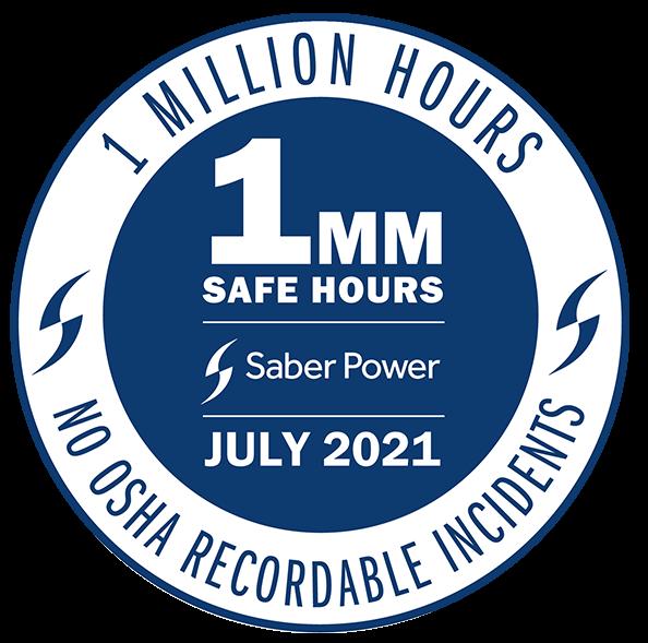 1 million safe hours logo